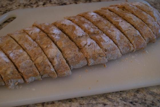 Vanilla Almond Spiced Biscotti