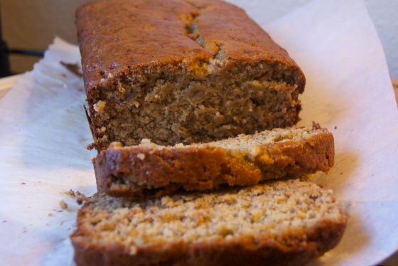 Straight Up Banana Bread