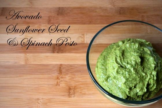 Avocado Sunflower Seed Pesto