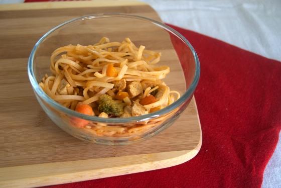 Tofu and Veg. Pad Thai (2)