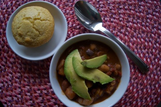 Butternut Squash and Bean Chili (2)