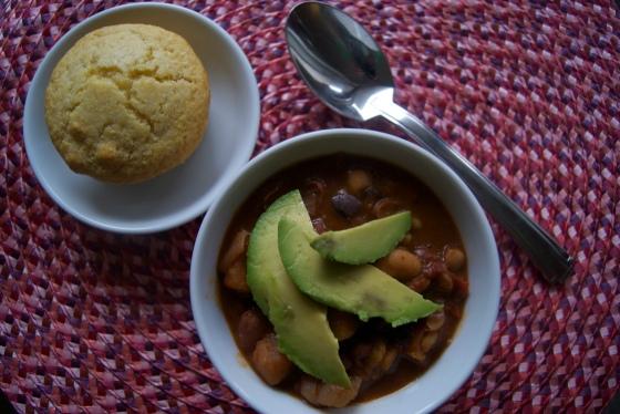 Butternut Squash and Bean Chili (2)