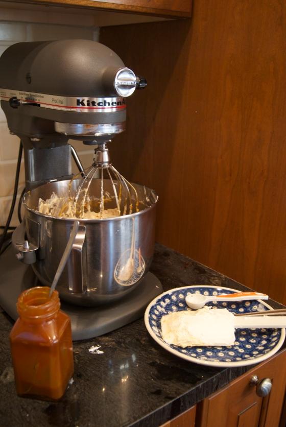 Salted Caramel Italian Meringue Buttercream