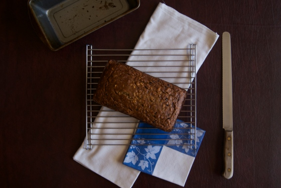 Insatiably: Oatmeal Banana Bread