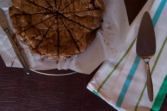 Biscoff Birthday Brownies