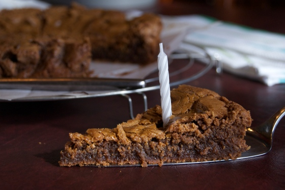 Biscoff Birthday Brownies