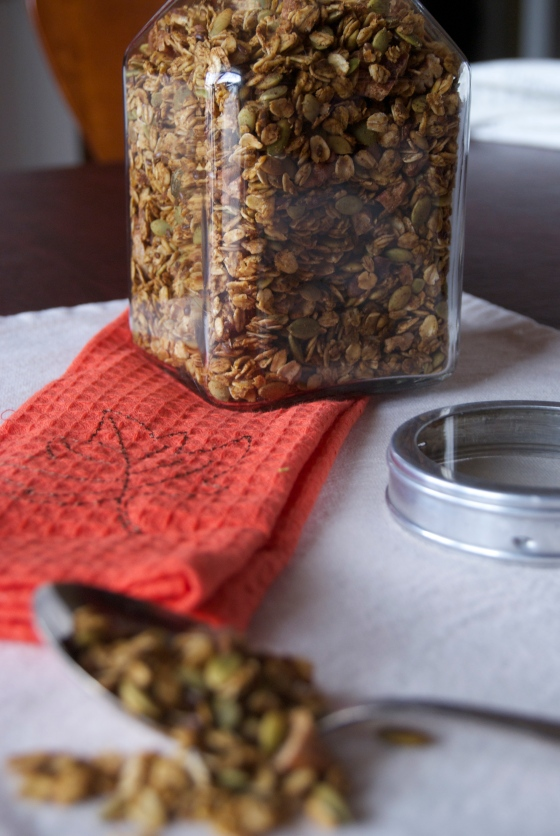 Insatiably|Pumpkin Granola