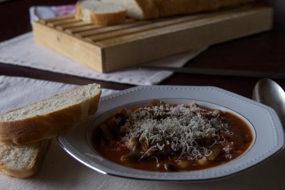 Insatiably Garbanzo Bean Vegetable Soup
