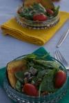 Roasted Acorn Squash & Spinach Salad|Insatiably