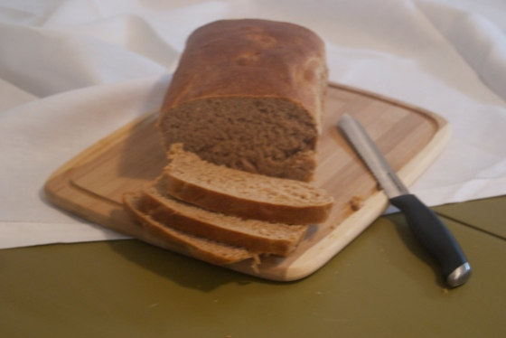 Honey Whole Wheat Bread | Insatiably